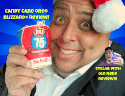 Pumpkin Pie Blizzard Calories Mini by The Dq Candy Cane Oreo Blizzard Review With Old Nerd Reviews