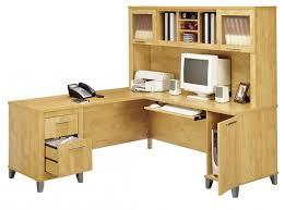 desk bush somerset l hansen cherry 60 intended for attractive