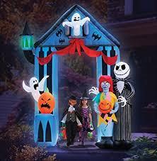 amazon com halloween 9 nightmare before christmas archway with