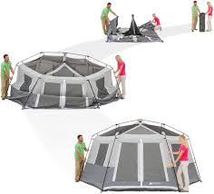 Cabin Tent Camping Family Shelter Outdoor Instant Hexagon Ozark ... Tents 179010 Ozark Trail 10person Family Cabin Tent With Screen Weathbuster 9person Dome Walmartcom Instant 10 X 9 Camping Sleeps 6 4 Person Walmart Canada Climbing Adventure 1 Truck Tent Truck Bed Accsories Best Amazoncom Tahoe Gear 16person 3season Orange 4person Vestibule And Full Coverage Fly Ridgeway By Kelty Skyliner 14person Bring The Whole Clan Tents With Screen Room Napier Sportz Suv Room Connectent For Canopy Northwest Territory Kmt141008 Quick C Rio Grande 8 Quick