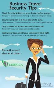 IT Security And Personal Safety For Business Travelers