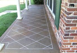 Creative of Concrete Patio Paint Ideas Paint A Concrete Patio