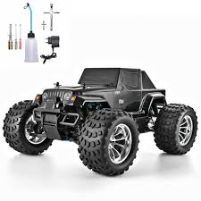100 Gas Powered Remote Control Trucks US 1794 54 OFFHSP RC Truck 110 Scale Nitro Power Hobby Car Two Speed Off Road Truck 94188 4wd High Speed Hobby On AliExpress