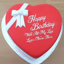 line Lover Birthday Cake Generator With Name Happy Birthday Wishes