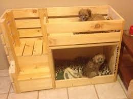 Cool Pallet Wood Project Plans How To Build A Bunk Bed For Your Pets DIY Projects