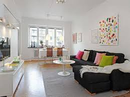 Modern Concept Apartment Living Design Colorful Small Ideas