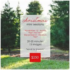 Elgin Christmas Tree Farm Elgin Tx by 2016 Mini Sessions U2013 Fall U0026 Christmas Brittney Melton