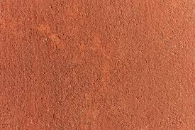 Tennis Court Ground Surface Texture Sport Background Stock Photo