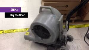 how to apply static dissipative floor finishes acl staticide