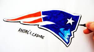 New England Patriots Pumpkin Stencil Free by Como Desenhar A Logo Do New England Patriots How To Draw