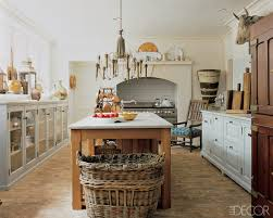 KitchenSmall White Rustic French Country Kitchen With Chandelier And Center Island Style Design Ideas