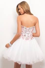 night moves prom dresses beautiful sweetheart a line white prom