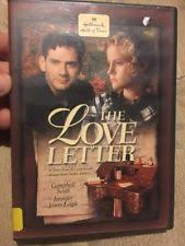 The Love Letter DVD DVDs & Blu ray Discs