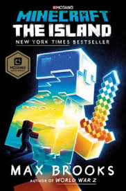 Minecraft The Island by Max Brooks Hardcover