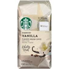 Starbucks Velvety Rich Vanilla Flavored Ground Coffee