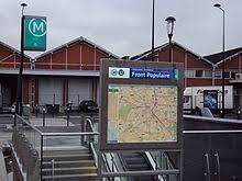 metro denis porte de ligne 8 du tramway d île de wikipédia