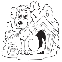 Dog Coloring Pages Surfnetkids