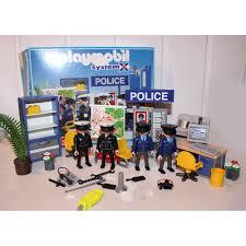 bureau playmobil playmobil 3957 bureau commissariat complet play original