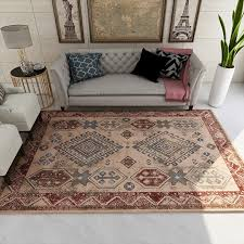 persische türkische teppiche für wohnzimmer retro schlafzimmer teppich sofa kaffee tisch boden teppich studie zimmer matte amerikanischen bereich