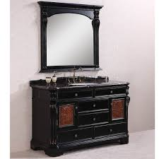 60 Inch Bathroom Vanity Single Sink Black by Antique Legion 60 Inch Marble Top Single Sink Antique Espresso
