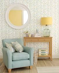 Spring Trail Duck Egg Wallpaper Blue BedroomBedroom