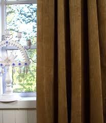 vorhang suna kord cognac 140x280 cm 2 stück blickdicht gardinenschals set landhaus
