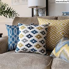 Oversized Throw Pillows For Floor by Throw Pillows For Grey Couch Stripe Polyester Window Curtain