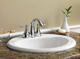 maxwell oval 4 centers self rimming bathroom sink gerber plumbing