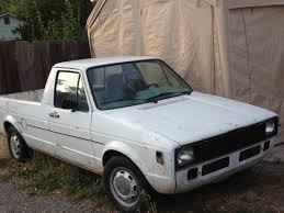 1980 Volkswagen Rabbit V4 Manual Pickup Truck For Sale Chico, CA
