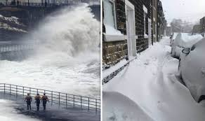 Snow UK What Is A Drift How Much Will There Be Tonight Met Office Forecast