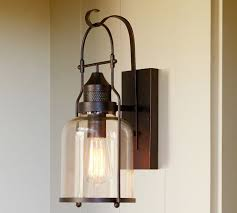taylor sconce pottery barn outdoor lighting by front door 180
