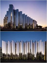 100 Patterson Architects Len Lye Center Arch Architecture Facade