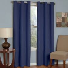 microfiber thermaback blackout window curtain