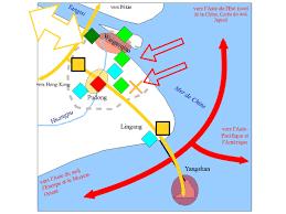 shanghai le plus grand port du monde croquis mxhg 4