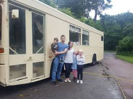 Couple Buy No51 Bus To Convert Into Luxury Motorhome