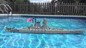 Sinkin In The Bathtub Youtube by Lego Battleship Yamato Model Sinking Youtube