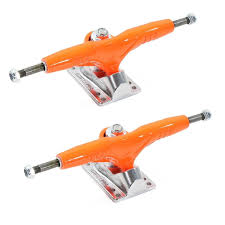 100 Skateboard Trucks Gullwing Pro III 90 Pair Green Orange Pink