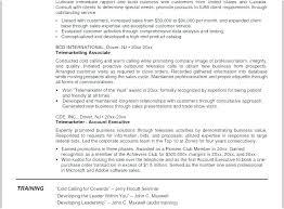 Resume Job Descriptions Telemarketing Inside Sales Rep Impressive Samples