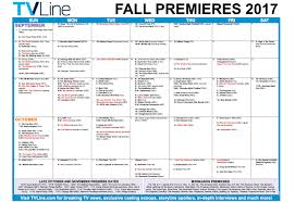 Syfy 31 Days Of Halloween 2017 by Fall Tv Premiere Dates 2017 U2014 Schedule Of Season U0026 Series