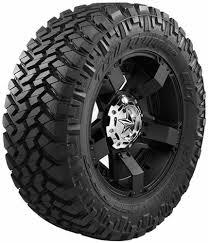 100 Mud Terrain Truck Tires Nitto 205730 Single 17 35x1250R17LT E 121Q Trail Grappler
