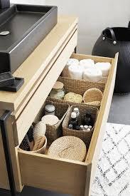 kondo methode zur aufbewahrung im badezimmer