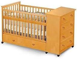 baby convertible captain u0027s crib woodworking plans on paper ebay
