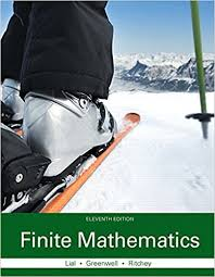 Finite Mathematics Plus MyLab Math With Pearson EText Access Card Package 11th Edition Lial Greenwell Ritchey The Applied Calculus