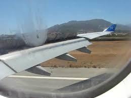 air transat lyon montreal atterrissage à la air transat