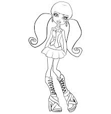 Coloring Pages Of Monster High Image