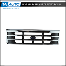 100 Ford Truck Parts Oem OEM F4TZ8200A Chrome Argent Grille With Emblem For Pickup