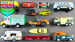 100 Trucks For Children Vehicles Kids Babies Toddlers Kids Learning Video
