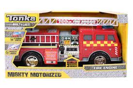 100 Tonka Mighty Motorized Fire Truck Amazoncom 07766 UK Engine Toy Toys
