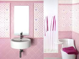 Pink Bathroom Paint Tiles Tile Replacement Stickers Transfers Texture Color Retro Ideas Wall Designs