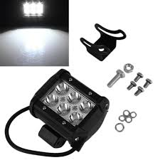 Cheap 2 Pieces/Sets 4inch 18W LED Offroad Driving Work Spot Light ... 75 36w Led Light Bar For Cars Truck Lights Marine High Quality 4 Led Car Emergency Beacon Hazard 50inch Straight Led Light Bar Mounting Brackets Question Jeep Cherokee Forum Inchs 18w Cree Light Bar Work Spot Lamp Offroad Boat Ute Car Double Side 108w Beacon Warning Strobe 6 Smd Work Reversing Red 15 11 Stop Turn Tail 3rd Brake Cheap Rooftop Better Than Stock Lights Toyota Fj 18 108w Cree 3w36 8600lm Off Road Atv